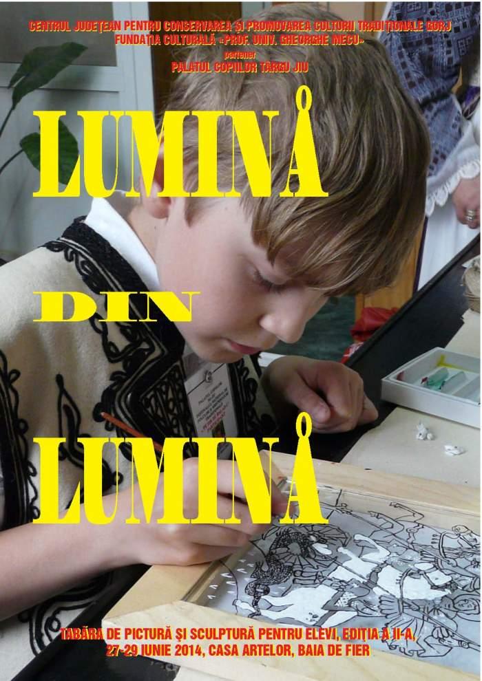 TABARA DE PICTURA-SCULPTURA ELEVI 2014