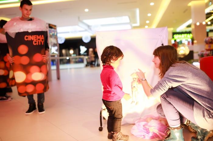 Joc special pentru copii, la Cinema City, de Mos Nicolae